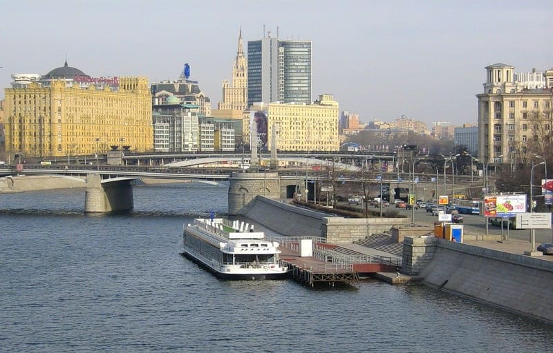 Причал Киевский вокзал